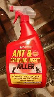 """The Best """"Non-Advertised"""" Moth Killer on the Market!!! PestShield Ant & Crawling Insect Killer 1ltr £1.49 - B&M"""