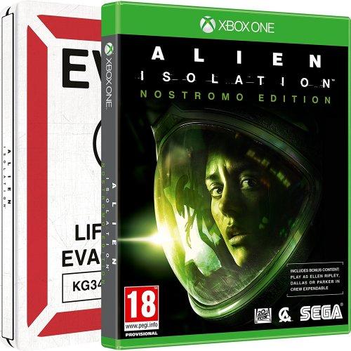 Alien: Isolation - Nostromo Steelbook (Exclusive to Amazon.co.uk) (Xbox One) £9.99 PRIME only