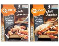 Quorn Chef's Selection Best of British Sausages / Quorn Chef's Selection Wild Garlic & Parsley Sausages (4 = 240g) ONLY £1.50 (Claim 50p back using CheckoutSmart 50p offer)  @ Asda ONLY
