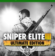 Sniper Elite 3 Ultimate Edition Xbox One (Gold) for £9.90