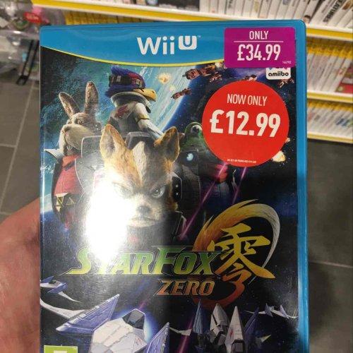 Starfox Zero - Wii U in store at Game £12.99 / £11.69 online with code new