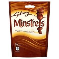 Bags of Minstrels / Maltesers / M&Ms 38p instore @ Tesco Beccles