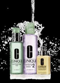 clinique 3 step process skincare giveaway FREE - collect instore