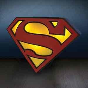 Superman Logo Light @ Zavvi for £10.98 Delivered. SHOULD BE £19.99
