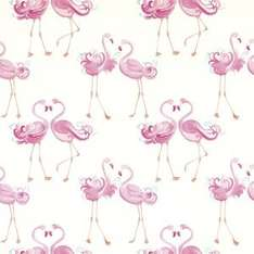 Stunning 10M rolls Flamingo / Dinosaur / Ballerina / Cheeky Monkey + others Wallpaper was £20 now £9 C+C @ Laura Ashley