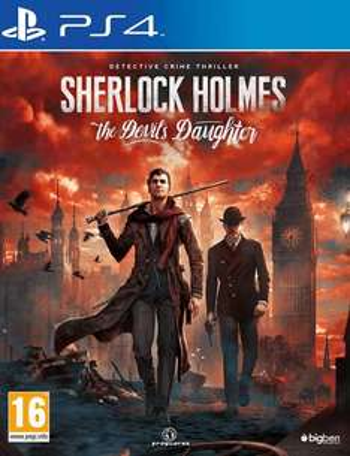 Sherlock Holmes: The Devils Daughter (PS4) @ BASE - £16.85