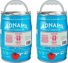 Adnams Mosaic Pale Ale. 2 x 5L mini kegs £22.21 @ Amazon