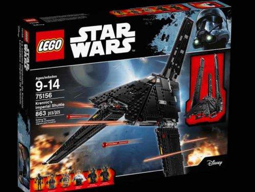 Star Wars Lego Krennic's Imperial Shuttle 75156 - Argos for £49.99