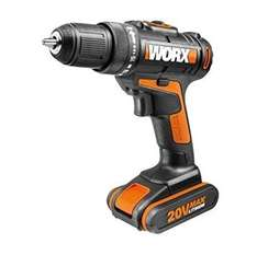 WORX Cordless 20V 1.5AH LI-ION Drill Driver with 2 Batteries and Carrybag  + 3 years warranty  £43.00  B&Q with code