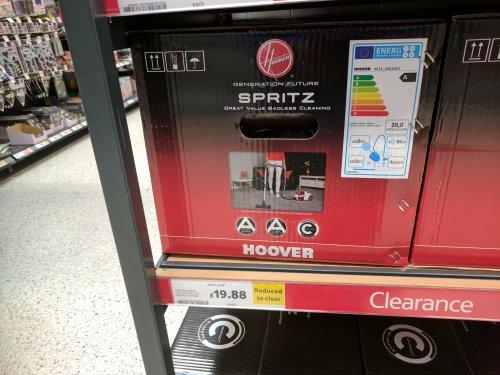 Hoover Spritz cylinder vacuum cleaner Tesco - £19.88 (instore at Wick)