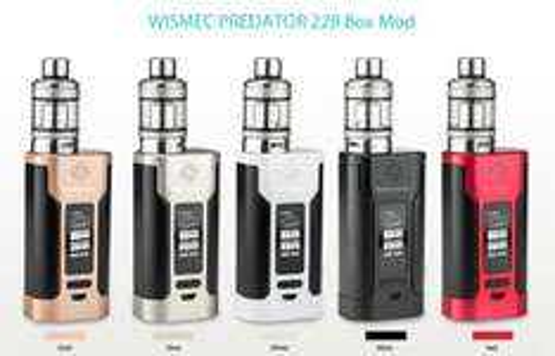 WISMEC PREDATOR 228 Box Mod at Gearbest for £30.99