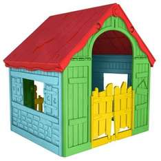 Keter Foldable Plastic Playhouse - £24.98 @ Homebase with free C&C