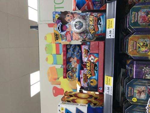 Yo Kai Watch at Tesco in store £4.50