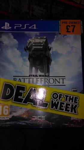Star Wars: Battlefront (PS4) £7 / Uncharted 4 (PS4) £15 (Pre Owned) @ Grainger Games (Instore)
