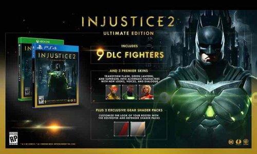 Injustice 2 ultimate edition (PS4/XB1) £41.99 @ Grainger games