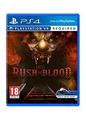 Until Dawn: Rush of Blood (PS4 PSVR) £12.49 @ base