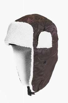 FAUX FUR LINED TRAPPER £1.00 @ boohoo (£3.99 delivery per order)