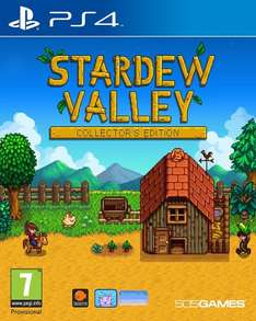 Stardew Valley Collector's Edition (PS4) £13.99 (Prime) £17.98 (Non-Prime) Delivered @ Amazon