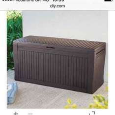 B&Q Patio storage box scanning at £20 instead of £30 instore