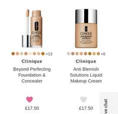 clinique foundation with free Marie Claire magazine and free delivery - £14.87 @ Fabled