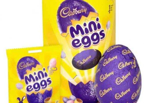 b&m mini egg easter egg - £1.99