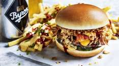 Free burger at Byrons nationwide if you find a toy plastic cow near the restaurants over Easter weekend