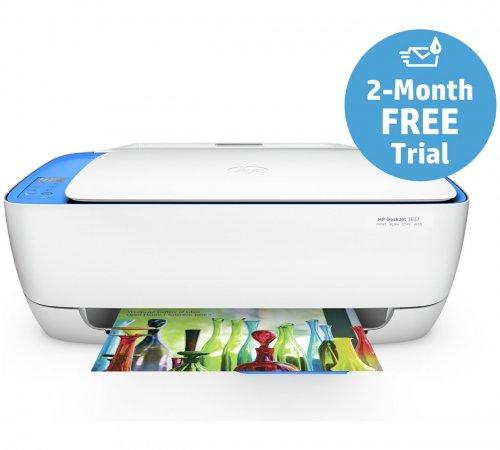 HP DeskJet 3637 All-in-One Wi-Fi Printer - Instant Ink £22.49 @ Argos