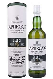 Laphroaig Select Single Malt Scotch Whisky (70 cl) - £22.55 @ Amazon