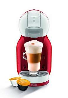 Nescafe EDG305.WR Dolce Gusto Mini Me Coffee Capsule Machine by De'Longhi - Red and White - with 2 years Guarantee £34.99 @ Amazon (DOTD)