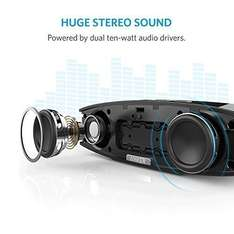 Anker Stereo Wireless Bluetooth 4.0 Speaker (A3143), 20W £31.99 at Amazon (Sold by AnkerDirect and Fulfilled by Amazon)