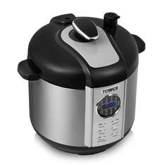 Tower T16005 One Pot Express Electric Pressure Cooker, 1100 W, 6 L - Stainless Steel £38.50 @ Amazon (DOTD)