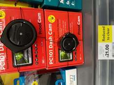 PC101 Dashcam £21 instore @ Tesco