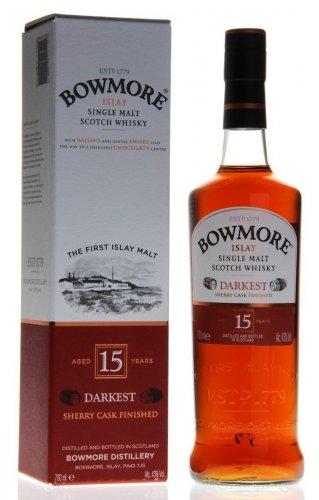 Bowmore Darkest 15 - £39.00 Amazon Prime - usually around £52