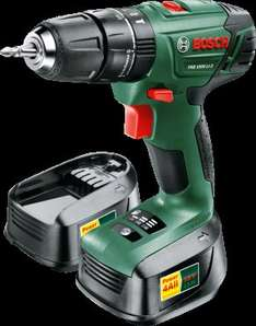Bosch Cordless 18V 2Ah Li-Ion Combi Drill 2 Batteries PSB1800LI-2 £60 (using voucher) b&q