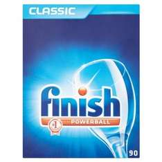 Finish Classic Powerball Dishwasher Tablets 90s - 6.65p per tablet - £5.99 @ B&M Retail