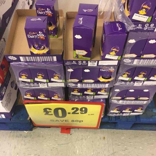 Cadbury Easter Dairy Milk @ Makro Leeds for 29p