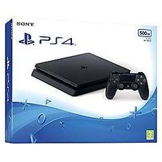 PS4 Slim 500GB Console +Game + additional Controller for £270 @ Tesco Direct (Free C&C)
