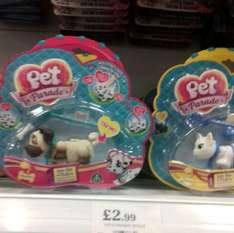 Pet parade puppies £2.99 @ Home Bargains