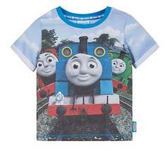 MOTHERCARE THOMAS & FRIENDS T SHIRT NOW £2 FROM £9 PLUS BUY 3 AND RECEIVE A FREE LUNCH BAG & FLASK PLUS £1.50 CLICK N COLLECT