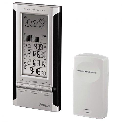 Hama ews380 Electronic Weather Station, Black/ Silver £10.53 (prime) @ Amazon