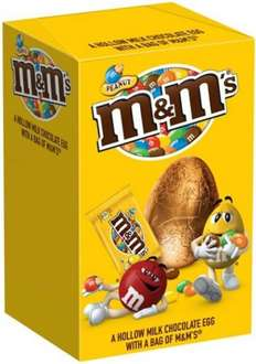 M&Ms easter egg 135g reduced to 50p @ morrisons (was £1)