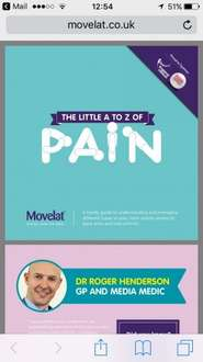 free copies of their 'The Little Book Of Pain