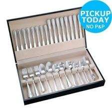 """HOME 58 Piece Stainless Steel Canteen Set with code """"Home20"""" £22.79 @ Argos"""