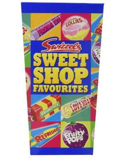 Swizzels Sweet Shop Favourites Gift Box 324 g (Pack of 6) £4.90 @ Amazon - Add on item