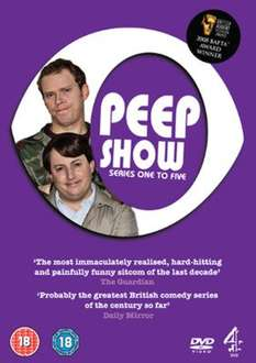 Peep Show: Series 1-5 (Used) - Series 1-4 (Used) 95p delivered @ Music Magpie