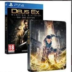 Deus Ex Mankind Divided Day One Edition PS4 - Steelbook - PS4/XboxOne £11.99 - 365Games