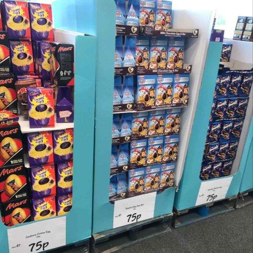 Paw Patrol Easter egg & Bar @ Asda reduced to 75p instore (Also Cadbury creme egg / Smarties / Rolo /  Mars)