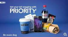 £1 lunch deal on O2 priority moments