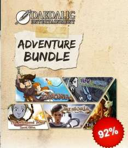 Daedalic Adventure Bundle - £3.36 @ gamersgate