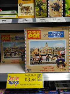Home Bargains Postman Pat Special Delivery Service Game £3.99